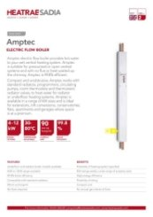 Amptec Electric Flow Boiler Data Sheet