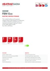 FBM Eco Technical Data Sheet