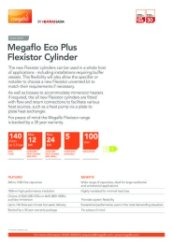 Megaflo Eco Plus Flexistor Cylinder Data Sheet