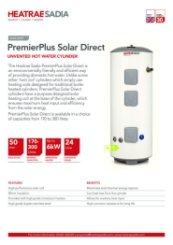 PremierPlus Solar Data Sheet