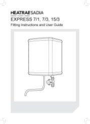 Express 7/1, 7/3, 15/3 Fitting Instructions and User Guide