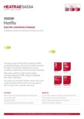 Hotflo Technical Data Sheet