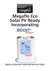 Megaflo Eco Solar PV Ready iBoost Buddy User Guide