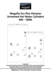 Megaflo Eco Plus Flexistor Installation Manual