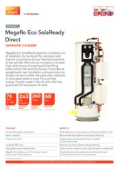 Megaflo Eco SolaReady Direct Data Sheet