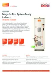 Megaflo Eco SystemReady Indirect Data Sheet