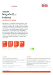 Megaflo Eco Indirect Unvented Cylinder Data Sheet