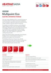 Heatrae Sadia Multipoint Eco Technical Data Sheet