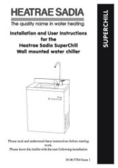 SuperChill30W Installation Manual
